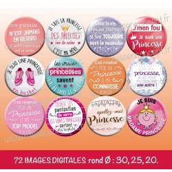 Images : les vraies princesses... - Planches : Rondes & Ovales, Rondes et Ovales