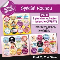 Images : nounou - Planches : Rondes